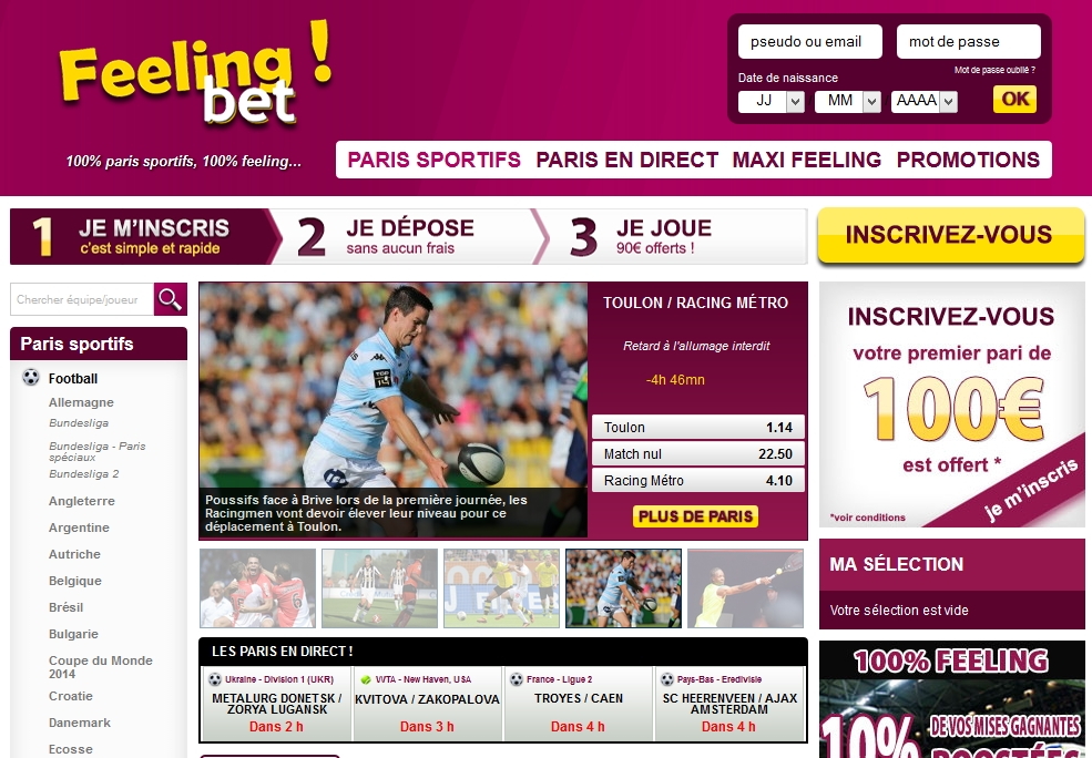 Feelingbet site