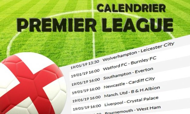 Calendrier Premier League