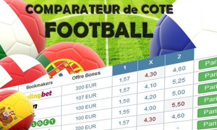 Comparateur de cote foot