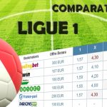 Comparateur de cote ligue 1