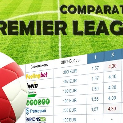 Comparateur de cote Premier League