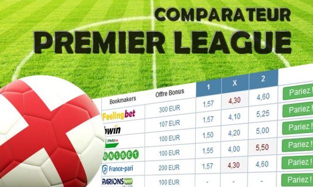 Comparateur Premier League