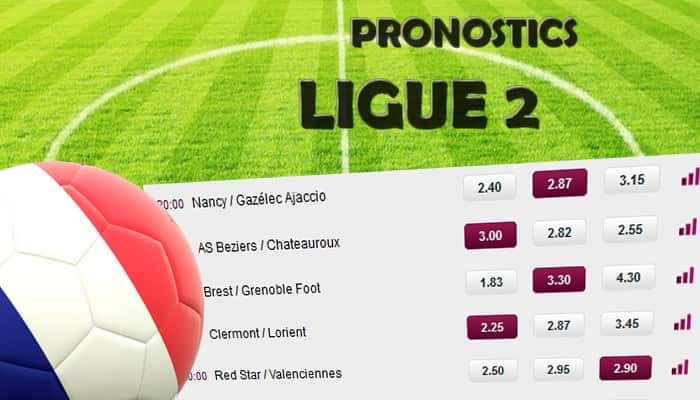🇫🇷 Ligue 2 – 25eme journee