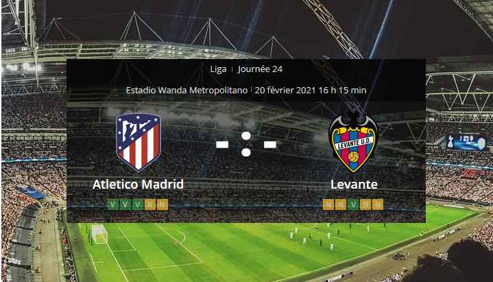 Pronostic Atletico Madrid Levante