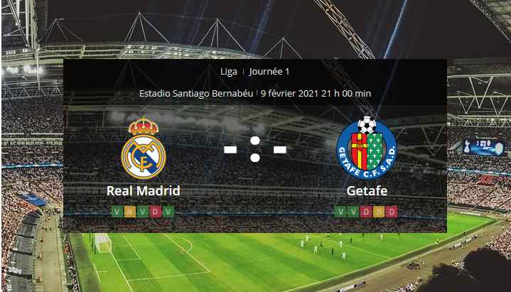 Pronostic Real Madrid Getafe