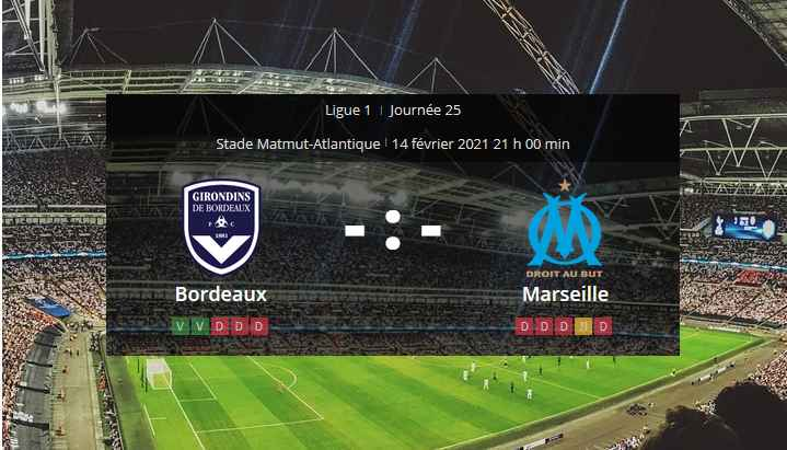 Pronostic Bordeaux Marseille
