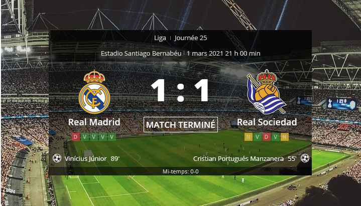 Pronostic Real Madrid Real Sociedad