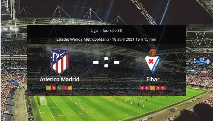 Pronostic Atletico Madrid Eibar