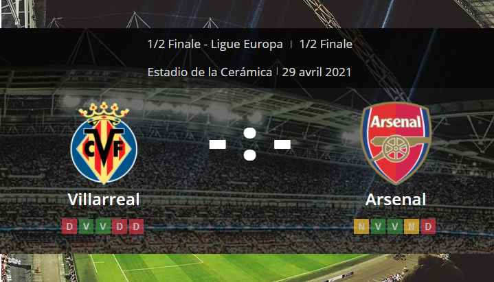 Pronostic Villarreal Arsenal