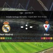 Pronostic Real Madrid Eibar